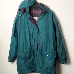 Woolrich coat removable hood size large
